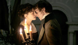 Anne Hathaway and James McAvoy in Becoming Jane