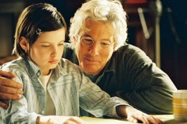 Flora Cross and Richard Gere in Bee Season