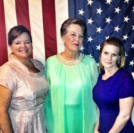 Denise Yoder, Susan Perrin-Sallak, and Jessica Nicol-White in The Best Man