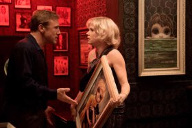 Christoph Waltz and Amy Adams in Big Eyes
