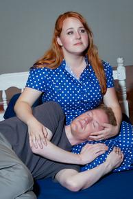 Shelley LaMar and Adam Nardini in Big Fish, photo courtesy of Avenue Studios