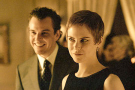 Danny Huston and Nicole Kidman in Birth