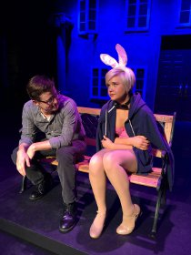 Ben Holmes and Lauren VanSpeybroeck in Legally Blonde: The Musical