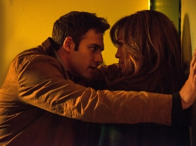 Ryan Guzman and Jennifer Lopez in The Boy Next Door