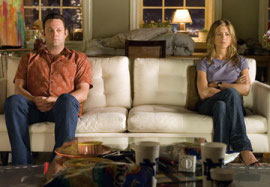 Vince Vaughn and Jennifer Aniston in The Break-Up