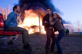 Brett Rickaby, Timothy Olyphant, and Radha Mitchell in The Crazies