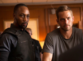 RZA and Paul Walker in Brick Mansions