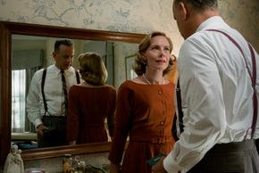 Tom Hanks and Amy Ryan in Bridge of Spies