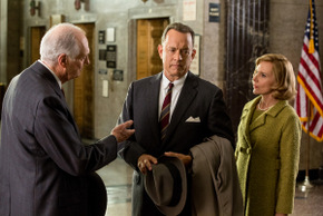 Alan Alda, Tom Hanks, and Amy Ryan in Bridge of Spies