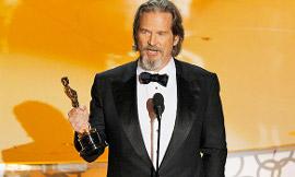 Best Actor winner Jeff Bridges