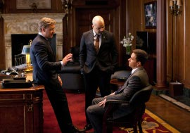 Russell Crowe, Jeffrey Wright, and Mark Wahlberg in Broken City