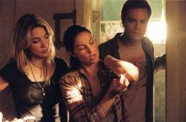 Lynn Collins, Ashley Judd, and Michael Shannon in Bug