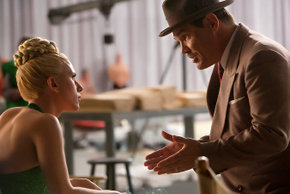 Scarlett Johansson and Josh Brolin in Hail, Caesar!