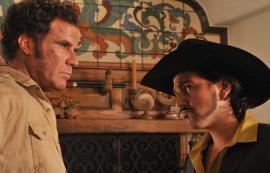 Will Ferrell and Diego Luna in Casa de Mi Padre