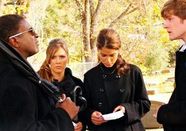 Michael J. Pagan, Cherilyn Wilson, Nikki Reed, and Cody Kasch in Chain Letter