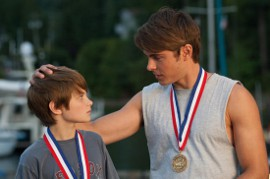 Charlie Tahan and Zac Efron in Charlie St. Cloud