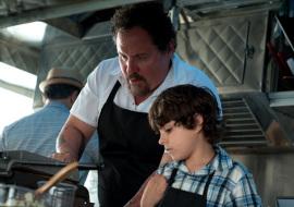 Jon Favreau and Emjay Anthony in Chef