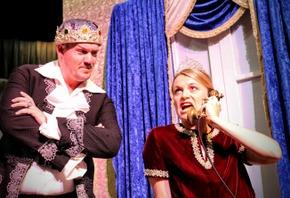Shane Pruett and Jenny Winn in Chitty Chitty Bang Bang