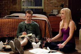 Chris Evans and Anna Faris in What's Your Number?