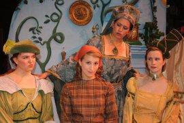 Maureen Malley, Melissa Flowers, Jamie Bauschka, and Katie Casey in Cinderella