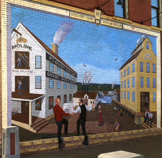 'City of Mills,' by William Gustafson. Photo by Bruce Walters.