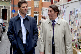 Eric Bana and Ciaran Hinds in Closed Circuit