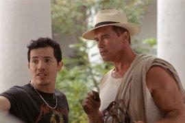 John Leguizamo and Arnold Schwarzenegger in Collateral Damage