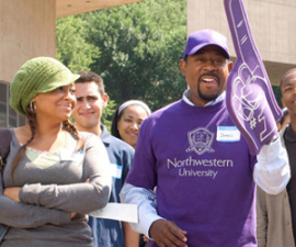Raven-Symone and Martin Lawrence in College Road Trip