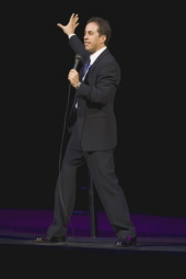 Comedian('s) Jerry Seinfeld