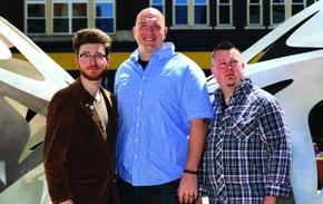 Andrew King, Patrick Adamson, and George Strader