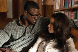 Lance Gross and Jurnee Smollett-Bell in Tyler Perry's Temptation: Confessions of a Marriage Counselor