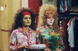 Nia Vardalos and Toni Collette in Connie & Carla