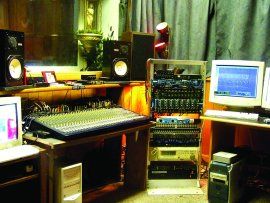 Sound and Vision's control room