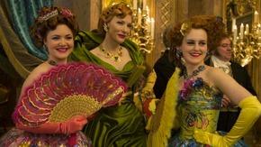 Holliday Grainger, Cate Blanchett, and Sophie McShera in Cinderella