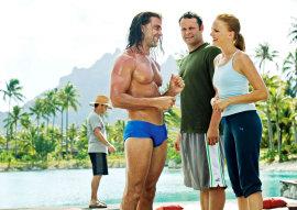 Carlos Ponce, Vince Vaughn, and Malin Akerman in Couples Retreat