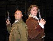 Ken Ohr and Aaron Sullivan in Arcadia