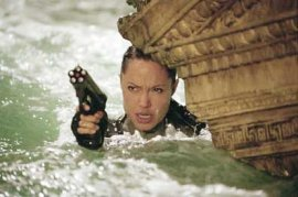 Angelina Jolie in Lara Croft, Tomb Raider: The Cradle of Life