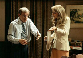 Woody Allen and Helen Hunt in The Curse of the Jade Scorpion