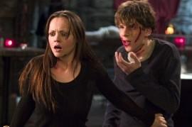 Christina Ricci and Jesse Eisenberg in Cursed