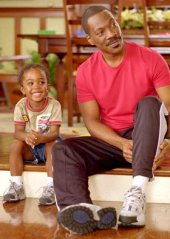 Khamani Griffin and Eddie Murphy in Daddy Day Care