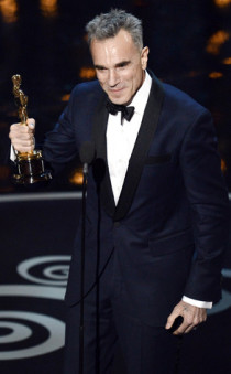 Best Actor Daniel Day-Lewis