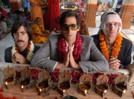 Jason Schwartzman, Adrien Brody, and Owen Wilson in The Darjeeling Limited