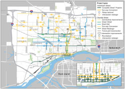 Davenport in Motion Street-Project Plan. Click for a larger version.