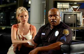Sarah Polley and Ving Rhames in Dawn of the Dead