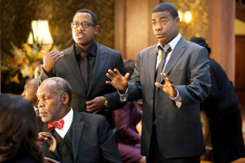 Danny Glover, Martin Lawrence, and Tracy Morgan in Death at a Funeral