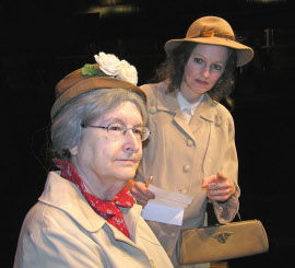 Jean Lupoli (right), with Susan Stoltenberg in The Trip to Bountiful