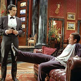 John Turturro and Adam Sandler in Mr. Deeds