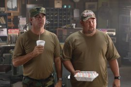 Bill Engvall and Larry the Cable Guy in Delta Farce