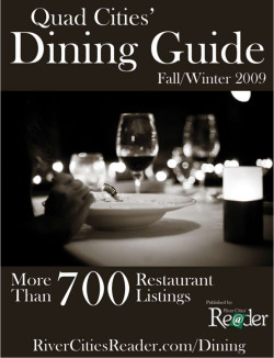 Fall/Winter 2009 Dining Guide. Click to download.