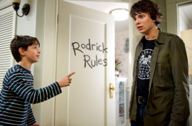 Zachary Gordon and Devon Bostick in Diary of a Wimpy Kid: Rodrick Rules